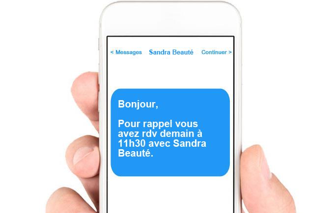 rappel par SMS, stop aux annulations