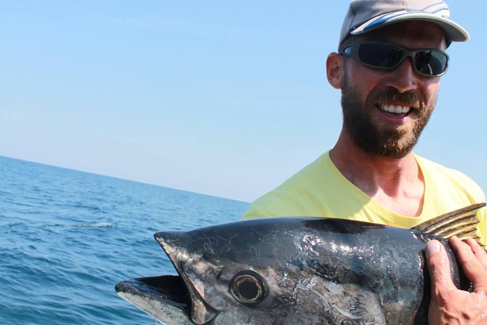 Mickael Jaulard-Lemasson, guide de pêche à Arcachon