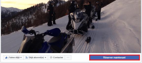 réserver maintenant facebook