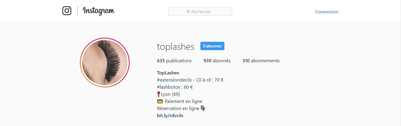 toplashes